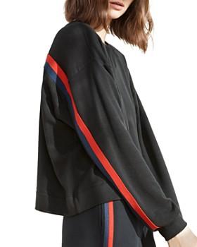 Velvet by Graham & Spencer - Danica Striped Sweatshirt