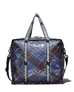 LeSportsac - x Made Me Large Plaid Fabric Shopper Tote ... bac89b8f828