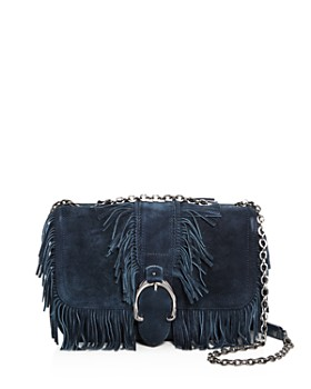 Longchamp - Amazone Folk Small Suede Crossbody - 100% Exclusive