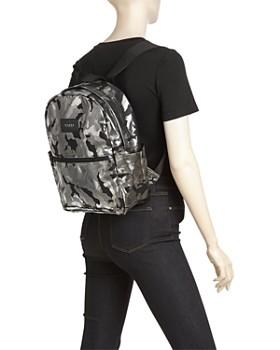 STATE - Williams Medium Metallic Camo Backpack