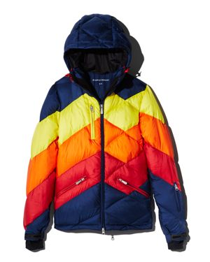 PERFECT MOMENT Superday Down Ski Jacket in Blue