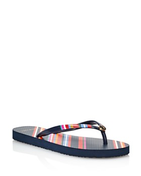 Tory Burch - Women's Printed Thin Flip-Flops