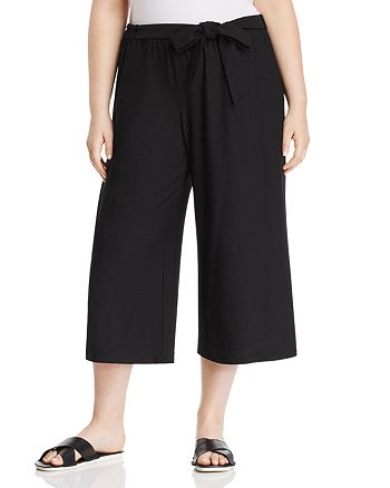 Eileen Fisher Plus - Belted Culottes