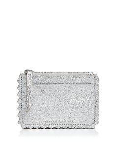 Loeffler Randall - Nina Metallic Leather Card Case