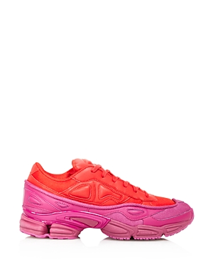 Raf Simons for Adidas Women's Ozweego Leather Lace-Up Sneakers