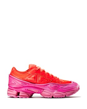 Raf Simons for Adidas - Women's Ozweego Leather Lace-Up Sneakers
