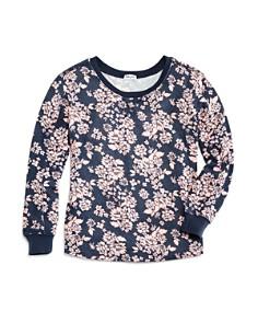 Splendid - Girls' Floral-Print Tee - Big Kid