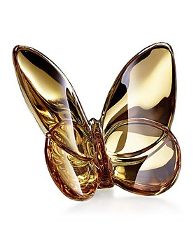 Baccarat - Lucky Gold Butterfly