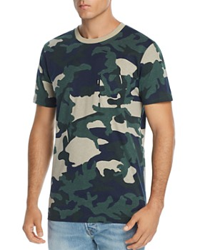 WeSC - Camouflage-Print Tee