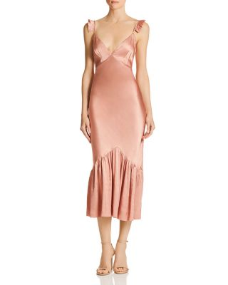 satin-midi-slip-dress by saylor