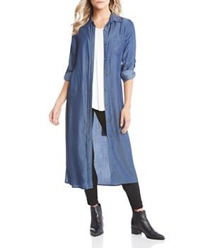 Karen Kane - Chambray Shirt Dress
