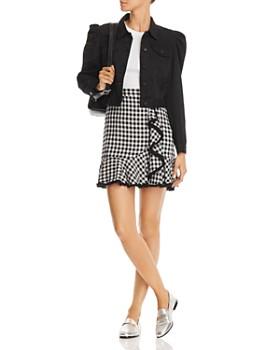 BLANKNYC - Puff-Sleeve Cropped Denim Jacket - 100% Exclusive