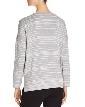 Eileen Fisher - Striped Organic Cotton Sweater
