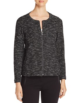 Eileen Fisher - Lightweight Mélange Knit Jacket - 100% Exclusive