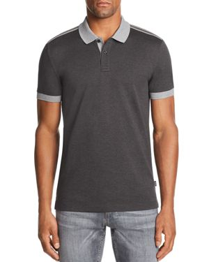 BOSS PHILLIPSON CONTRAST SHORT SLEEVE POLO SHIRT