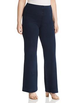 6f0746a1ce3 Lyssé Plus - Pull-On Denim Trouser ...