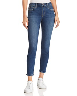 Current/Elliott - The Stiletto Ankle Skinny Jeans in 1 Year Worn Stretch Indigo