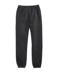 Butter - Girls' Embellished Varsity Fleece Jogger Pants, Little Kid, Big Kid - 100% Exclusive