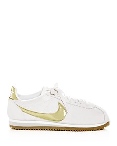 Nike - Women's Classic Cortez Suede Lace Up Sneakers