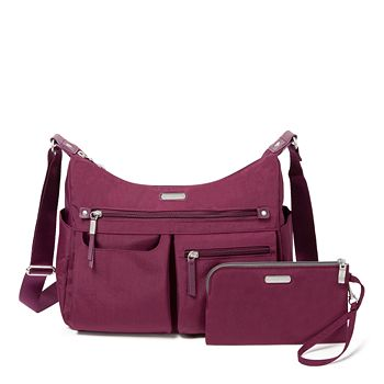 Baggallini - Classic Anywhere Large Hobo Bag with RFID Phone Wristlet