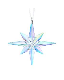 Swarovski - Aurora Borealis Crystal Star Ornament