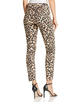 PAIGE - Verdugo Ankle Skinny Jeans in Sahara Leopard