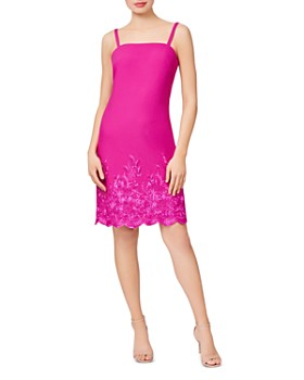 Betsey Johnson - Embroidered Slip Dress