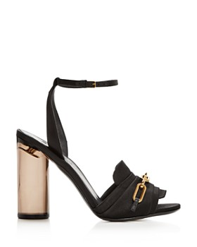 Burberry - Women's Coleford Satin High-Heel Sandals