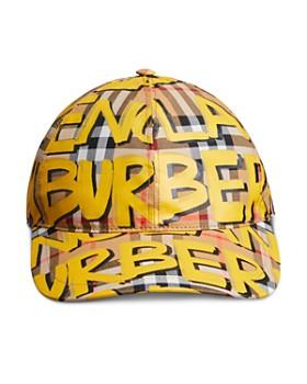 Burberry - Marker Pen Check Baseball Cap