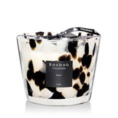 Baobab Collection - Black Pearls Candle, Max 10