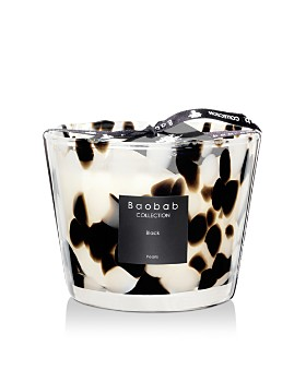 Baobab - Black Pearls Candle, Max 10