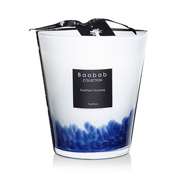 Baobab Collection - Feathers Touareg Candle, Max 16