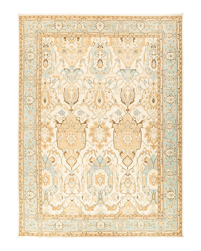 Solo Rugs Oushak 14 Hand-Knotted