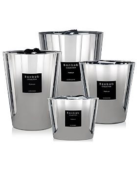 Baobab Collection - Baobab Collection Platinum-Finish Candles