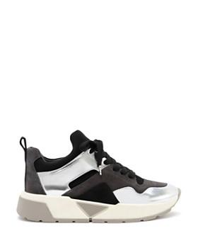Dolce Vita - Women's Walter Mixed Media Platform Dad Sneakers