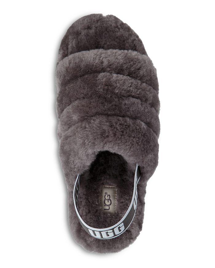 e44d858ebcc7 UGG® - Women s Fluff Open Toe Fur Slide Slippers