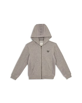271f446a9 True Religion - Boys  French Terry Hoodie with Mesh Details - Little Kid