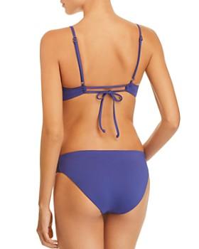 BECCA® by Rebecca Virtue - Color Code Bralette Bikini Top &  Color Code Tab American Cut Bikini Bottom
