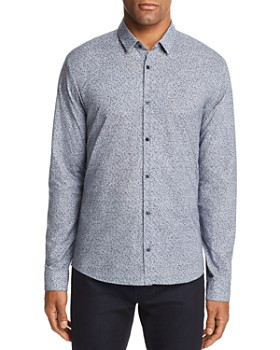 HUGO - Ero Confetti Extra Slim Fit Button-Down Shirt