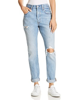 Levi's - 501 Destruct Slim Jeans in Can't Touch This