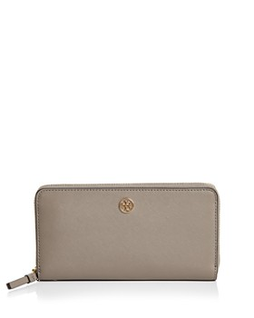 320a193ecabe Tory Burch - Robinson Zip Leather Continental Wallet ...