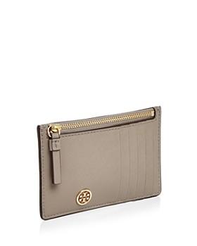 Tory Burch - Robinson Zip Leather Slim Card Case