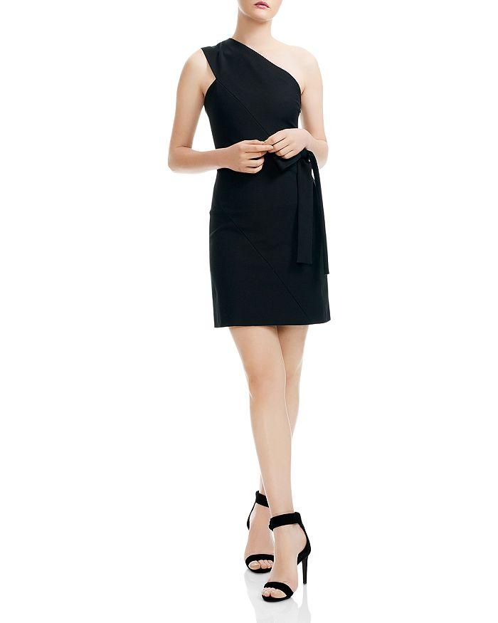 Maje - Rimbo One-Shoulder Mini Dress
