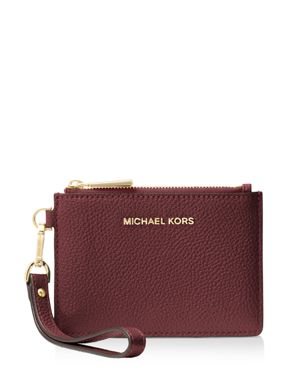 SMALL LEATHER WRISTLET