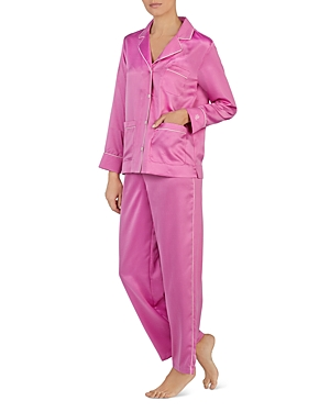 Lauren Ralph Lauren Satin Long Pj Set