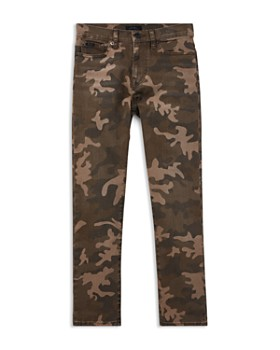 Ralph Lauren - Boys' Sullivan Camo Slim Stretch Jeans - Big Kid
