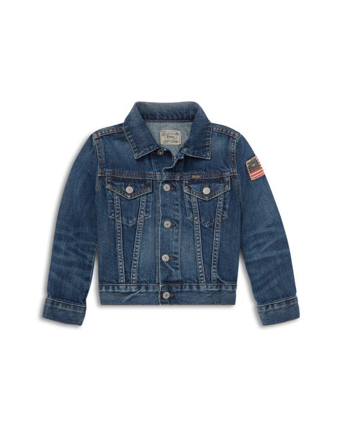 Ralph Lauren  Boys' Cotton Denim Jacket - Little Kid, Big Kid    Bloomingdale's