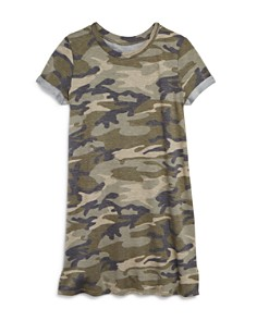 AQUA Girls' Camo-Print T-Shirt Dress, Big Kid - 100% Exclusive - Bloomingdale's_0
