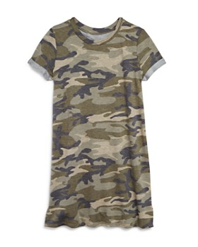 AQUA - Girls' Camo-Print T-Shirt Dress, Big Kid - 100% Exclusive