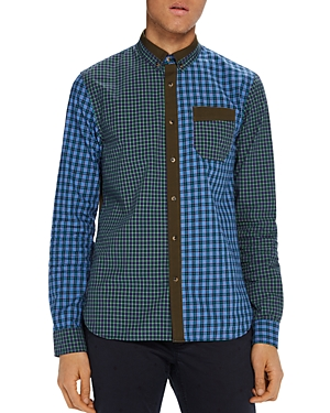 Scotch & Soda Mix/Match Check Button-Down Shirt